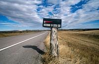 Badlands National Park. South Dakota, USA