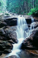 Waterfall, Templer´s Park, Kuala Lumpur, Malaysia