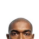 portrait of a young bald man