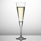 Close-up of a glass of champagne