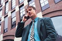 man, telephoning