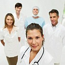 portrait of medical personnel