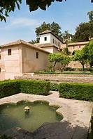 Generalife gardens, Alhambra. Granada. Spain