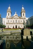 Nossa Senhora da Candelária Church. Rio de Janeiro. Brazil