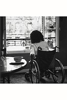 HANDICAPPED PERSON<BR>Photo essay.
