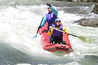 RAFTING<BR>Worldwide distribution except for United Kingdom and Germany.<BR>Enns river in Austria.
