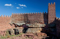 Peracense castle (10th-14th centuries), Perancese. Teruel province, Spain