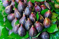 Figs. La Boquería market. Barcelona. Spain.