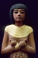 Figure from Tutankhamun´s Tomb at Egyptian Museum, Cairo. Egypt