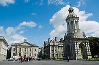 Trinity College. Dublín. Ireland.