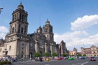 Cathedral. Zocalo. Historical Centre. Mexico City. Mexico