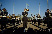 A Swedish military band