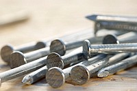 Common galvanized nails