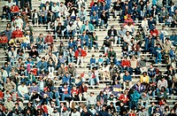 Crowd at outdoor stadium
