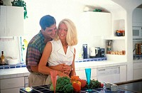 Couple in kitchen MR#79B