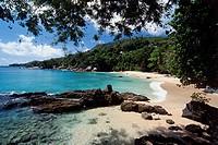 Sunset Beach Mahe Seychelles