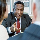 Businessman Negotiating with Colleagues (thumbnail)
