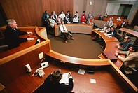 Courtroom scene in Rockville, Maryland.  We have extensive coverage of other court activities.