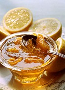 Lemon jelly jam