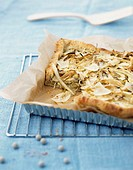 Fennel and Parmesan tart