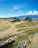 Mt. Alban, Oaxaca, Mexico