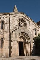 Santa María del Campo church (12th-14th century), A Coruña. Galicia, Spain