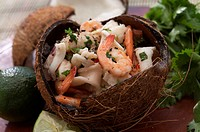 Coconut seafood stew