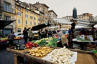 Market stalls Rome market
