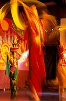Traditional dancing in the Penang  Cultural Center, Penang, Malaysia