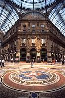 Italy, Milan, Galleria Vittorio Emanuele 2nd