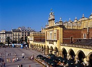 Sukiennice, Cloth Hall, Old Town, Market Square, Krakow, Poland