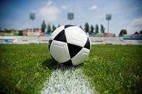 Soccer Ball on Field