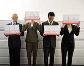 Businesspeople Holding Charts (thumbnail)