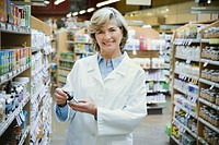 Pharmacist at Health Food Store
