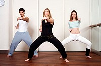 Students in an Active Tae Bo class (thumbnail)