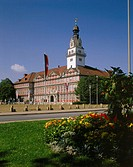 Germany, Lower Saxony,  Wolfenbüttel, palace,  Europe, Central Europe, northwest Germany, sight, residence palace, palace buildings, construction, arc...