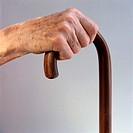 Hand on Cane