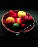 Painter´s Model of a Bowl of Fruit