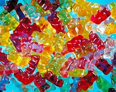 10237519, sweets, candy, little elastic bear, bright, colours, back light, colorful, food, eating,