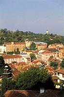 Bulgaria, Plovdiv, view at the city,  old town  Europe, southeast Europe, Balkans peninsula, Republika Balgarija, South Bulgaria, Plowdiw, city, distr...