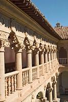Cloister of Convento de las Dueñas, Salamanca. Castilla-León, Spain