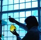 Pharmaceutical Scientist with Liquid Compound