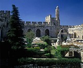 Tower of David, Museum of the history of Jerusalem, Israel.