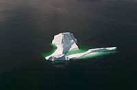 Canada, Newfoundland, Kittiwake Coast,  Sea, iceberg,  North America, Atlantic, Atlantic ocean, nature, sight, ice, swims, drives, nature drama, Eisfo...