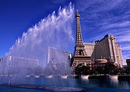 Fountain. Bellagio Hotel and Casino. Las Vegas. USA