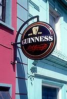 Pub sign, Kilkenny, County Kilkenny, Ireland.