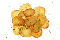Bratkartoffeln   Food, food, meal, supplement, potato court, potatoes, potato disks, fried, greasy, fatty, chive, chive small rolls, quietly life, stu...