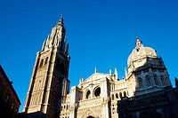 Old cathedral, Toledo. Castilla-La Mancha, Spain