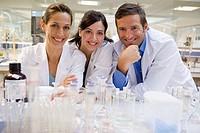 Inasmet-Tecnalia Foundation, Technology and Research Centre, San Sebastian Technological Park, Basque Country. Flask, solution preparation, microbiolo...