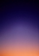 Orange and purple sunset sky, color gradation